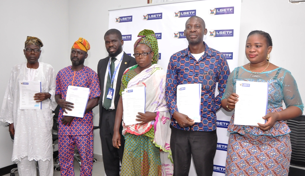 Photo of LAGOS STATE EMPLOYMENT TRUST FUND (LSETF) DISTRIBUTES OFFER LETTERS TO BENEFICIARIES N25B ETF PILOT SCHEME AT IKEJA