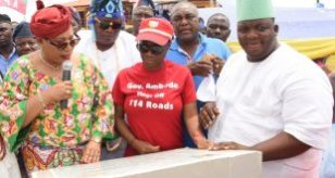 Photo of GOV. AMBODE HANDS OVER ROAD IN LAFENWA PANADA STREET, ISOLO LCDA AS PART OF 114 LOCAL GOVERNMENT ROADS