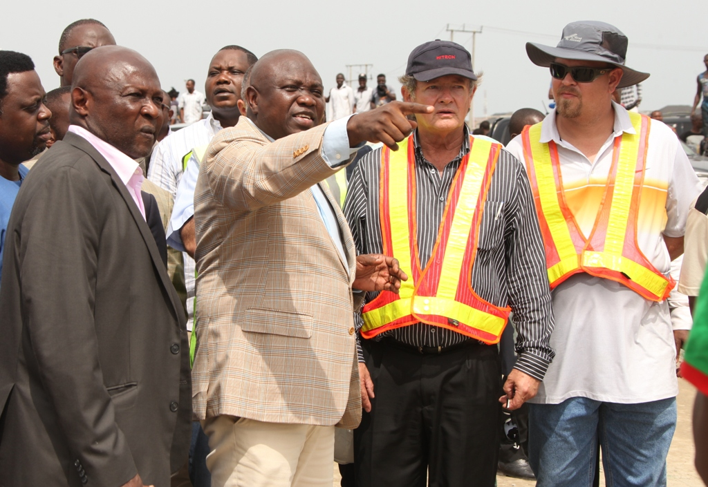 Photo of GOV. AMBODE INSPECTS ONGOING CONSTRUCTION WORK OF AJAH FLY OVER