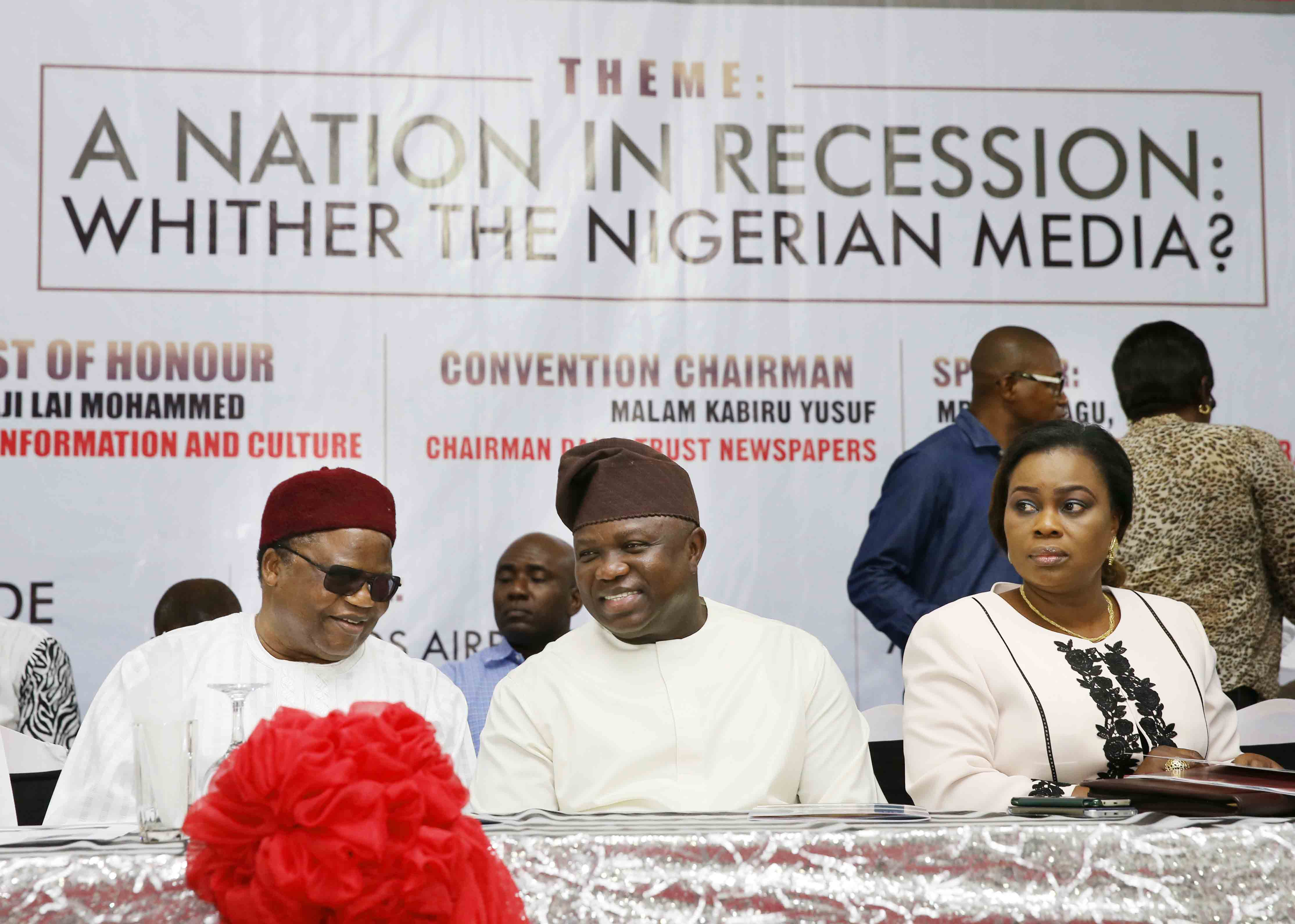 Photo of RECESSION NOT A CRIME, A WAKEUP CALL TO REARRANGE EXPENDITURE – AMBODE