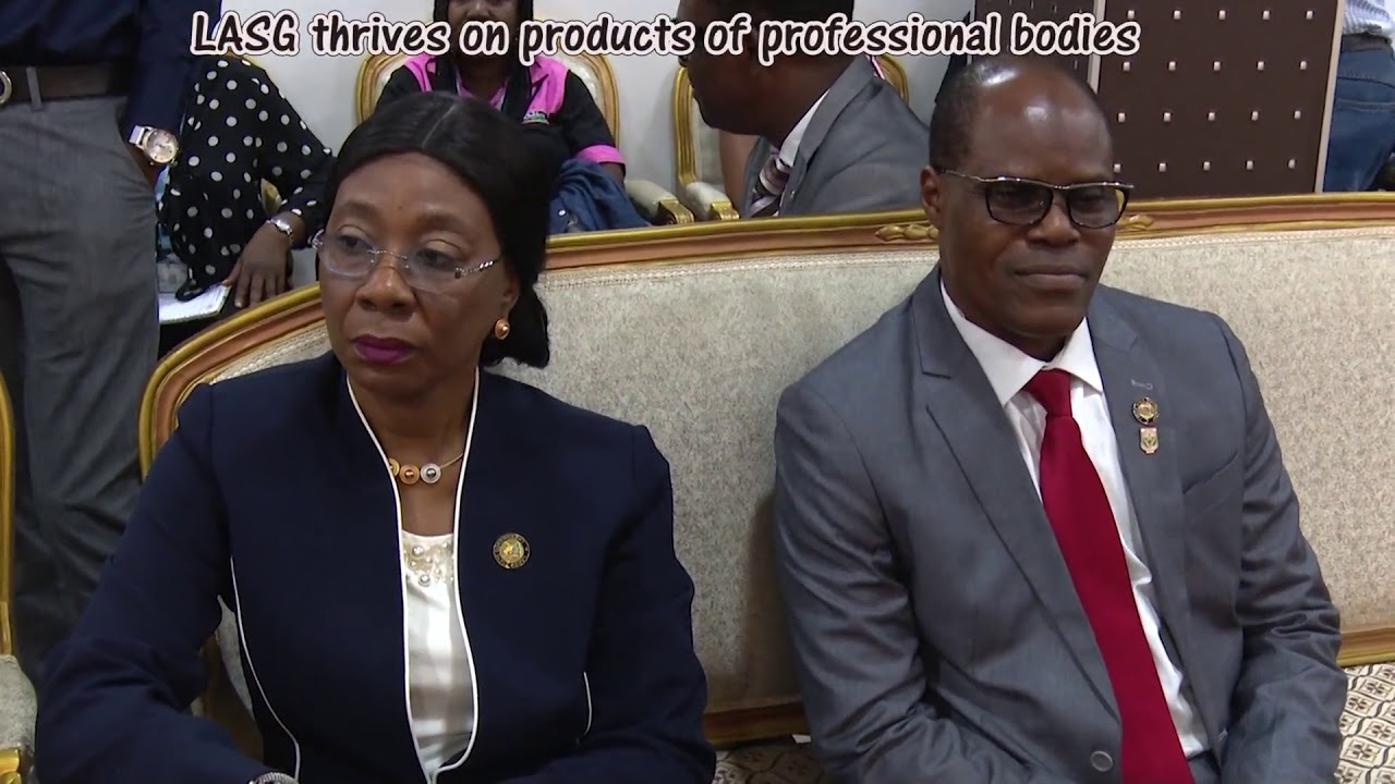 Photo of LASG THRIVES ON PRODUCTS OF PROFESSIONAL BODIES