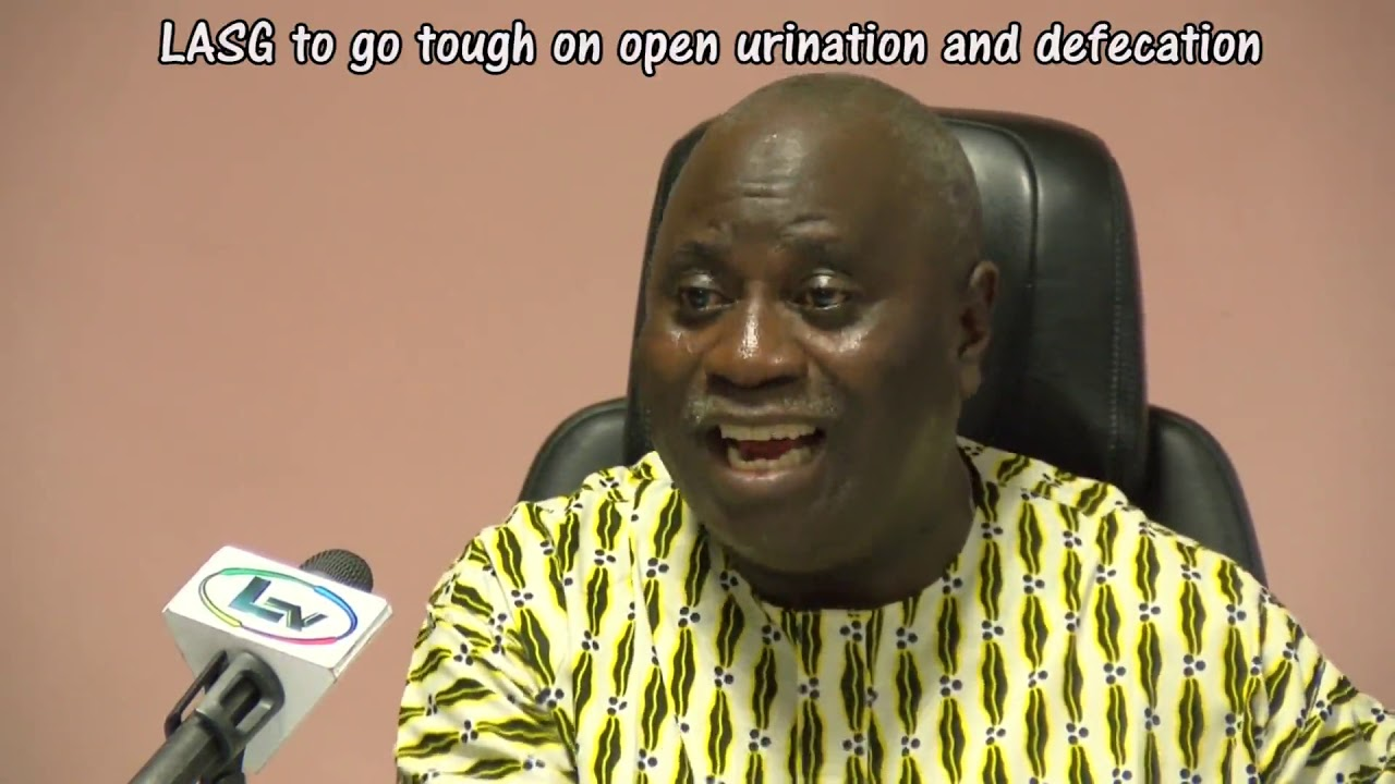 Photo of LAGOS STATE GOVERNMENT TO GO TOUGH ON OPEN URINATION AND DEFECATION