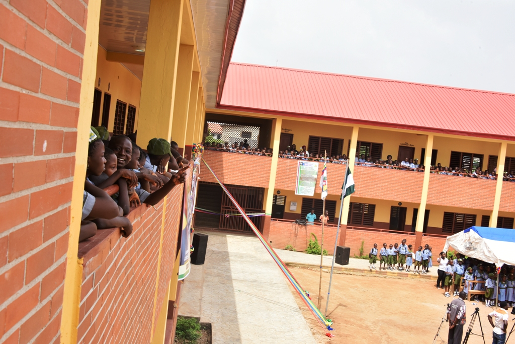 Photo of LASG COMMISSIONS BLOCKS OF CLASSROOMS IN ALIMOSHO LOCAL GOVERNMENT