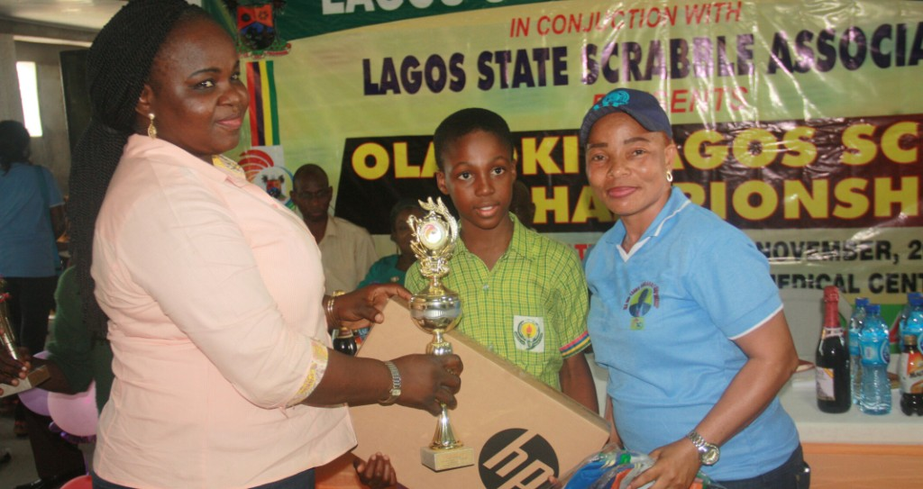 Photo of PRESENTATION OF TROPHIES AND MOTIVATIONAL GIFTS TO WINNERS OF THE JUST CONCLUDED 3RD EDITION OF DR OLA-OKI SCRABBLE CHAMPIONSHIP IN BADAGRY.