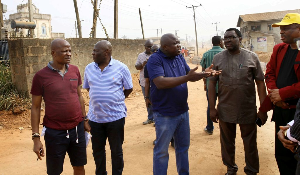 Photo of GOV. AMBODE INSPECTS ONGOING PROJECTS IN EPE