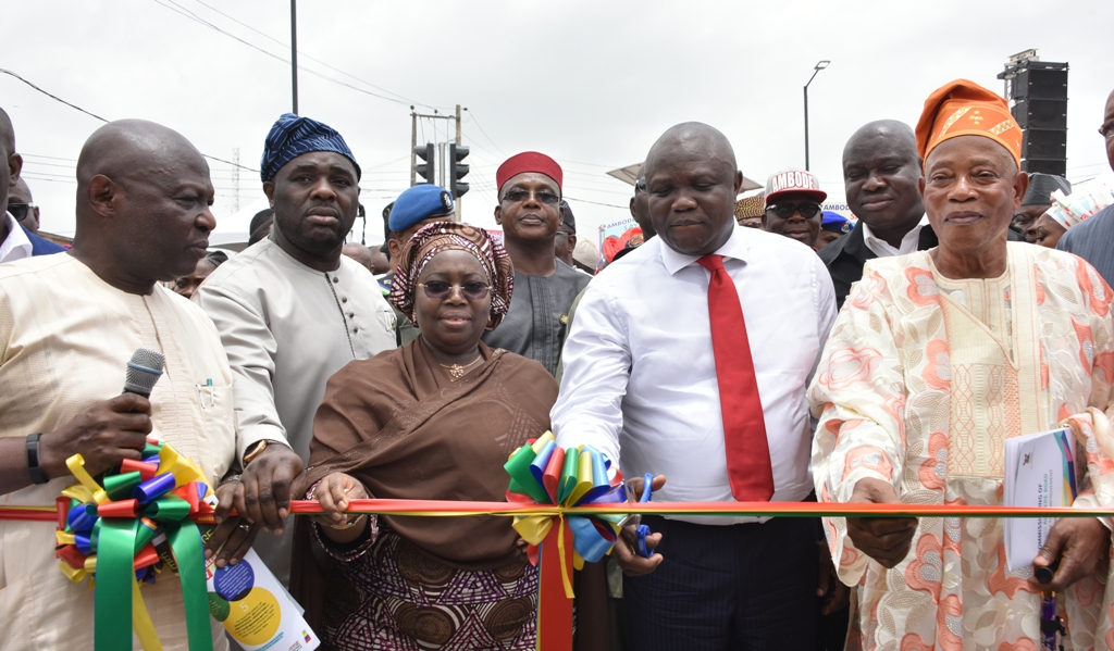 Photo of AMBODE COMMISSIONS DUALIZED ALAPERE ROAD, JUNCTION IMPROVEMENT WORKS