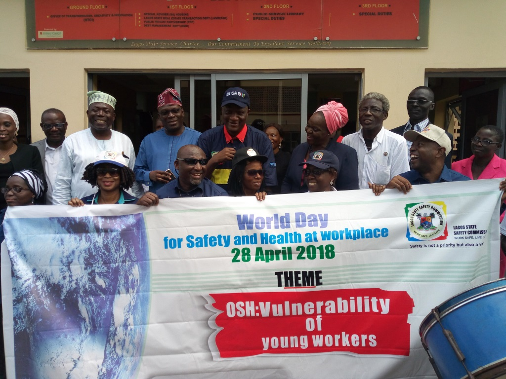 Photo of LAGOS HOLDS WALK TO CELEBRATE 2018 WORLD DAY OF SAFETY