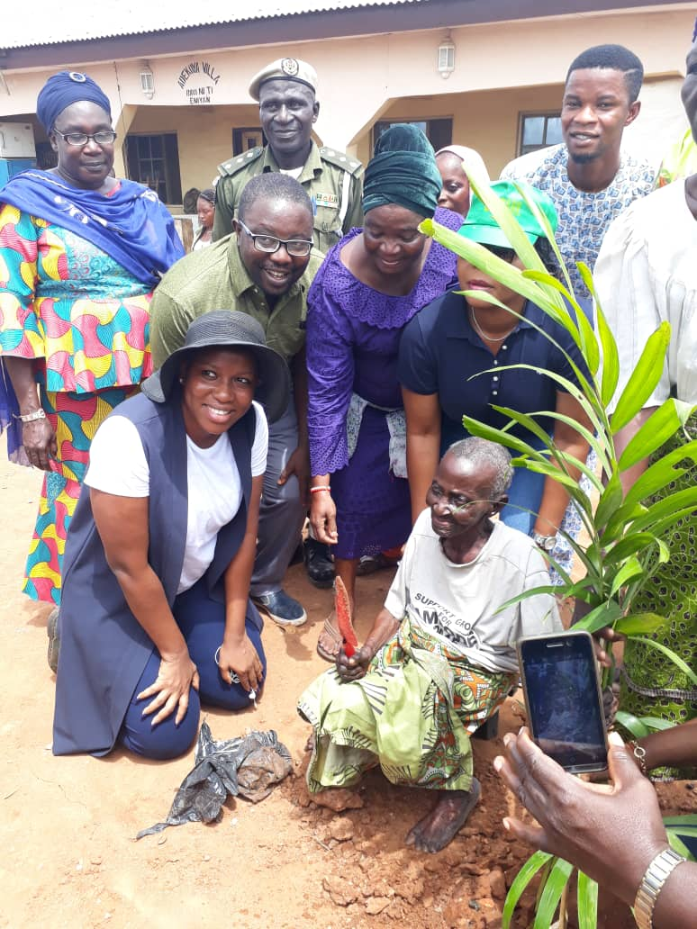 Photo of LASPARK TAKES TREE-PLANTING CAMPAIGN TO EPE COMMUNITY