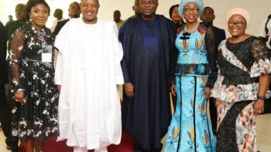 Photo of GOVS AMBODE, BAGUDU, FIRST LADY BOLANLE ATTEND CLOSING CEREMONY OF COWLSO'S 18TH NATIONAL WOMEN'S CONFERENCE AT EKO HOTEL AND SUITES, VICTORIA ISLAND ON THURSDAY, OCTOBER 25, 2018