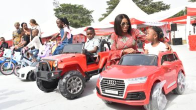Photo of GOV. AMBODE, HIS WIFE AT 2018 END OF THE YEAR CHILDREN CHRISTMAS PARTY AT LAGOS HOUSE, IKEJA ON SATURDAY, DECEMBER 22, 2018