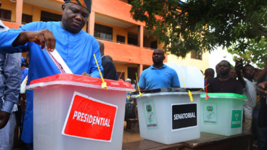 Photo of AMBODE VOTES IN EPE, COMMENDS LAGOSIANS, INEC