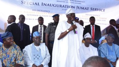 Photo of SANWO-OLU SOLICITS RELIGIOUS LEADERS' SUPPORT FOR BEHAVIOURAL CHANGE