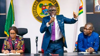 Photo of GOV. SANWO-OLU MEETS WITH STATE LEADERSHIP OF TUC, NLC, PUBLIC SERVICE JOINT NEGOTIATING COUNCIL (JNC) AT LAGOS HOUSE, ALAUSA, IKEJA, ON TUESDAY, OCTOBER 15, 2019