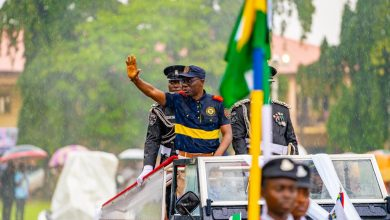 Photo of GOV. SANWO-OLU AT 59TH INDEPENDENCE DAY CELEBRATION AT POLICE COLLEGE GROUND, IKEJA ON TUESDAY, OCTOBER 1, 2019