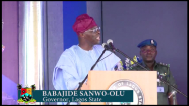 Photo of GOV.SANWO-OLU ON EDUCATION REVIEWING