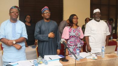 Photo of SANWO-OLU INAUGURATES LAGOS RESILIENCE STEERING COMMITTEE
