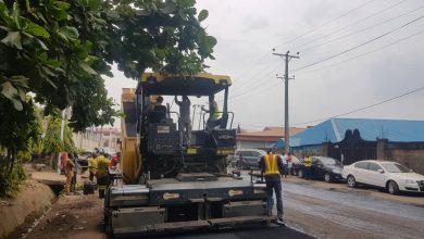Photo of Continuation of work on LJ Dosunmu road, Ikeja