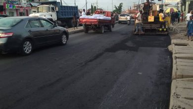 Photo of Progress photographs of maintenance work done by LSPWC at Addo Badore road, Akins bus stop by Bisi Afolabi street junction, Eti Osa…. Work is still ongoing