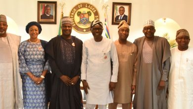 Photo of SENATE DELEGATION PAYS CONDOLENCE VISIT TO GOV. SANWO-OLU ON THE DEMISE BRIG. GEN. MOBOLAJI JOHNSON