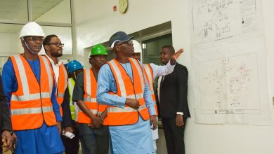 Photo of GOV. SANWO-OLU INSPECTS INDEPENDENT POWER PROJECT (IPP) AT ALAUSA, ON THURSDAY, JANUARY 2, 2020.