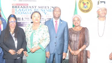 Photo of Breakfast Meeting with the Lagos Business Community