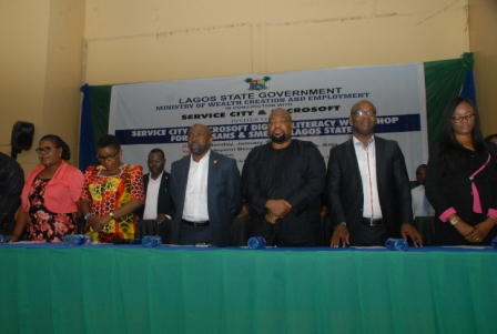 Photo of LASG ORGANISES TECHNOLOGY LITERACY PROGRAMME FOR ARTISANS
