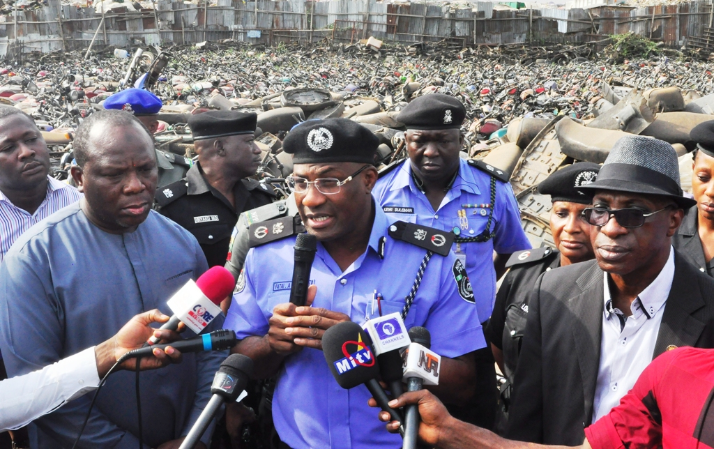 Photo of TRAFFIC LAW: LAGOS TO CRUSH OVER 4000 IMPOUNDED COMMERCIAL MOTORCYCLES