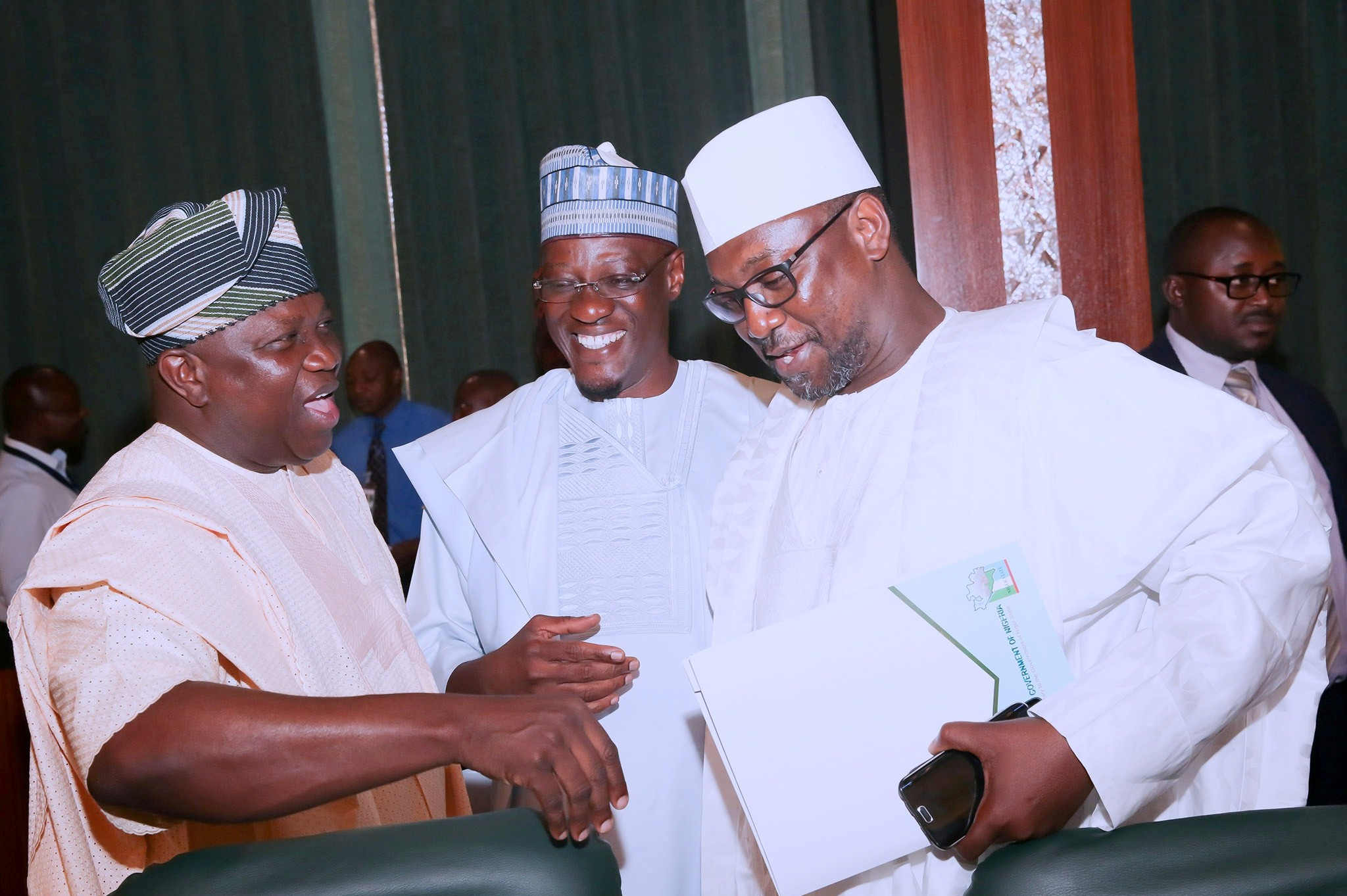 Photo of GOV. AMBODE ATTENDS NEC MEETING IN ABUJA