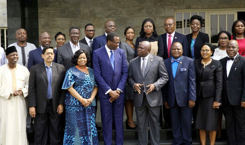 Photo of GOV. AMBODE RECEIVES DIRECTOR GENERAL OF CONSUMER PROTECTION COUNCIL (CPC) AT LAGOS HOUSE, IKEJA