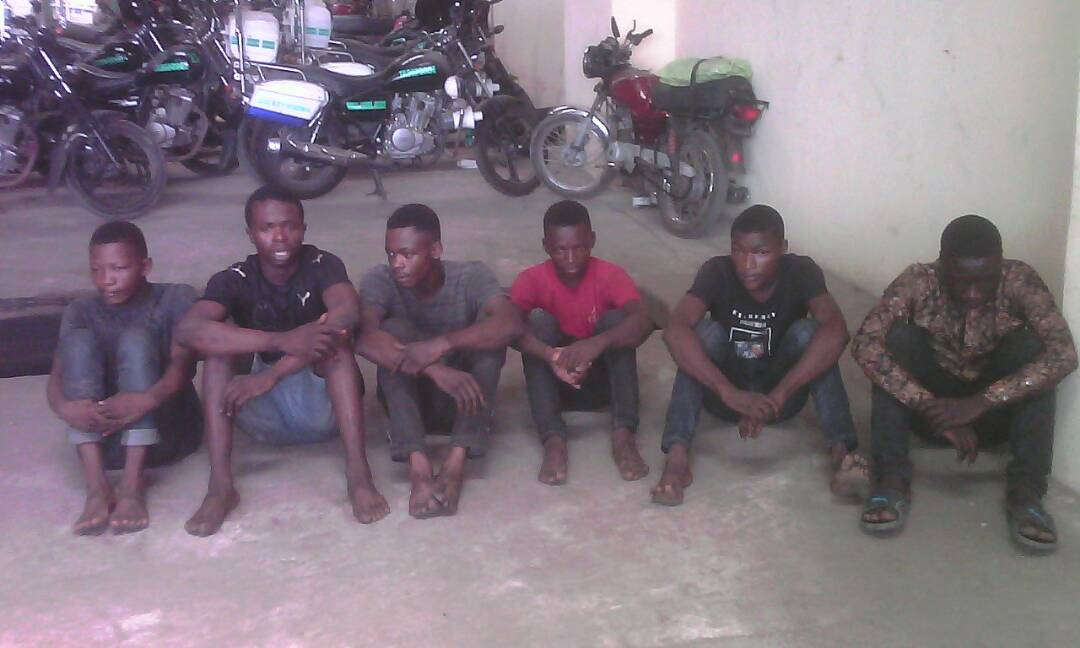 Photo of NEIGHBORHOOD SECURITY ARRESTS SIX CULT MEMBERS FOR RAPE