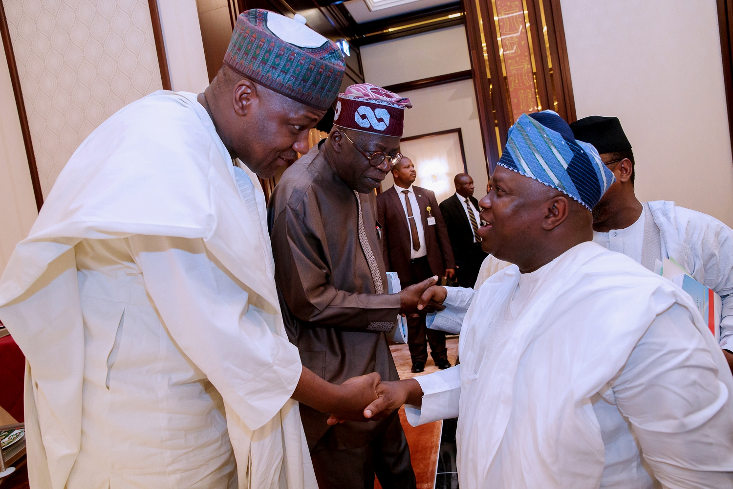 Photo of GOV. AMBODE ATTENDS APC NATIONAL EXECUTIVE COMMITTEE MEETING IN ABUJA