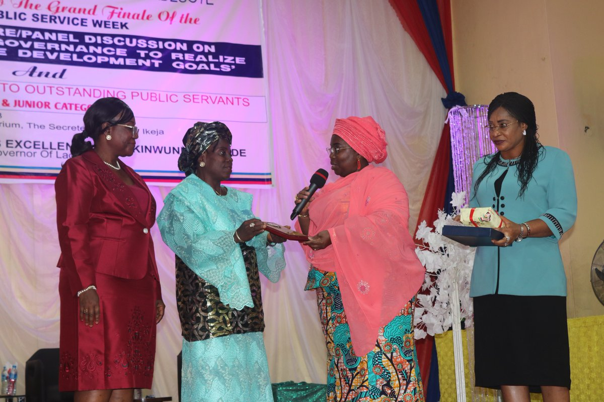Photo of AMBODE HINGES SUCCESS ON CIVIL SERVANTS' EFFICIENCY, POSITIVE ATTITUDE TO WORK