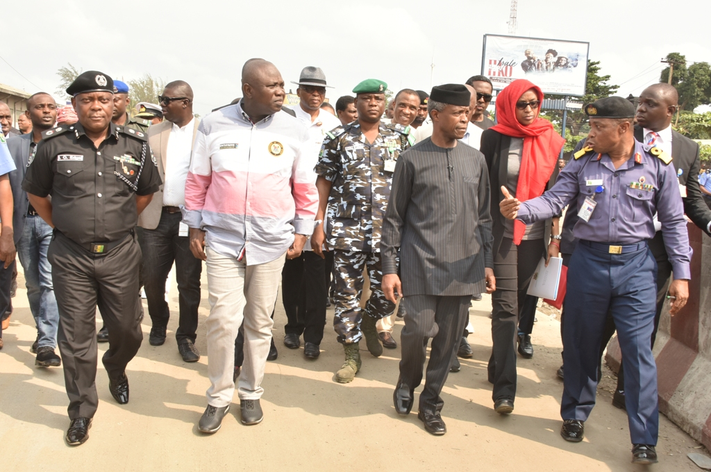 Photo of VICE PRESIDENT OSINBAJO, GOV. AMBODE MEET MARITIME UNIONS AND STAKEHOLDERS, INSPECT STATE OF APAPA… ON THURSDAY