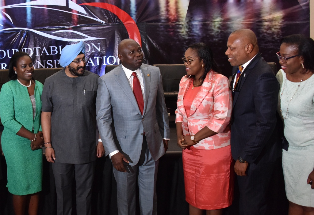 Photo of AMBODE WOOS INVESTORS AT WATER TRANSPORT ROUNDTABLE
