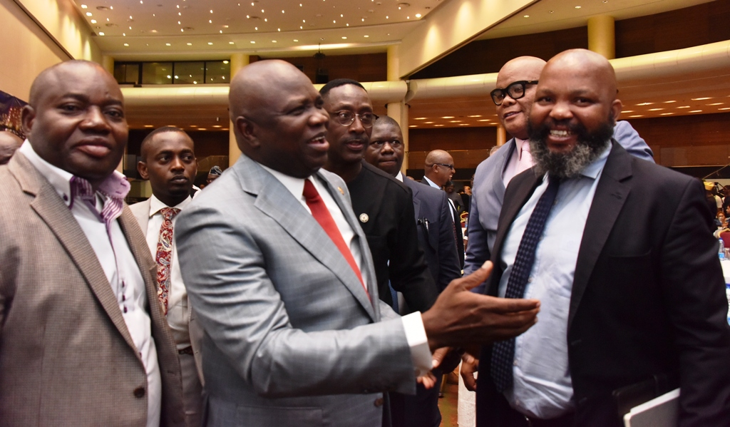 Photo of GOV. AMBODE ATTENDS WATER TRANSPORTATION ROUNDTABLE AT EKO HOTEL AND SUITES, VICTORIA ISLAND… ON FRIDAY