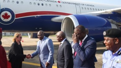 Photo of GOV. AMBODE RECEIVES GOVERNOR-GENERAL OF CANADA, RT. HON JULIE PAYETTE AT INTERNATIONAL AIRPORT, IKEJA AND ATTEND COMMISSIONING OF BIOSECURITY LABORATORY IN MAINLAND HOSPITAL, YABA ON TUESDAY, OCTOBER 30, 2018