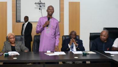 Photo of CHIEF OF STAFF TO THE GOVERNOR, MR TAYO AYINDE, MEETS WITH STAFF OF GOVERNOR'S OFFICE ON WEDNESDAY, JUNE 26, 2019