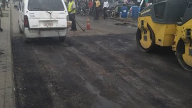 Photo of Before, During and After  maintenance work done at Ajah Badore road