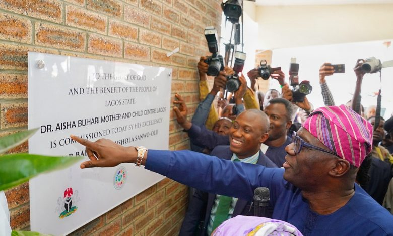 Photo of GOV. SANWO-OLU COMMISSIONS 149-BED MATERNAL AND CHILD CENTRE IN ALIMOSHO GENERAL HOSPITAL, IGANDO, ON THURSDAY, OCTOBER 3, 2019