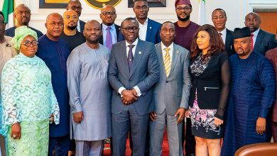 Photo of GOV SANWO-OLU RECEIVES MEMBERS OF IJEGUN-EGBA TANK FARM OWNERS AND OPERATORS ASSOCIATION AT LAGOS HOUSE, ALAUSA, ON MONDAY, OCTOBER 14, 2019