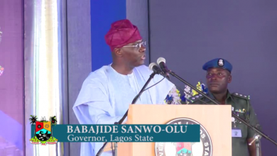Photo of GOV. SANWO-OLU COMMITMENT