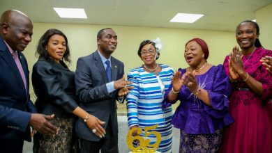 Photo of Dr. Hamzat attends 65TH Birthday of Mrs. Laide Osijo