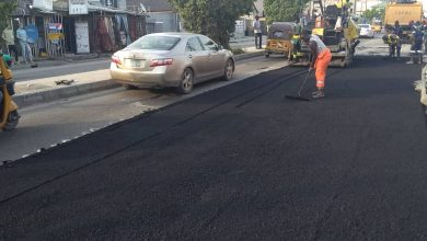 Photo of Maintenance work by LSPWC still ongoing at Ado Badore road, Ajah Eti-Osa