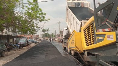 Photo of Maintenance work done by LSPWC at Irewole street, off Opebi link road, Ikeja
