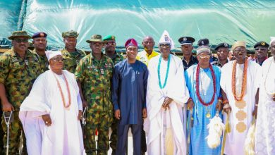 Photo of SECURITY: SANWO-OLU WELCOMES OPERATION CROCODILE SMILE IV IN LAGOS