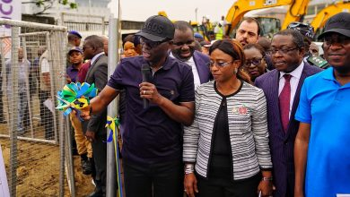 Photo of PICTURES: GOV. SANWO-OLU FLAGS-OFF CONSTRUCTION OF VICTORIA ISLAND-ONIRU 1.8KM ROAD NETWORK ON WEDNESDAY, DECEMBER 4, 2019