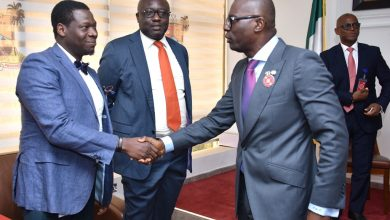 Photo of GOV. SANWO-OLU RECEIVES MANAGEMENT TEAM OF ORACLE NIGERIA AT LAGOS HOUSE, ALAUSA, IKEJA.