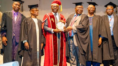 Photo of GOV SANWO-OLU ATTENDS UNIVERSITY OF LAGOS, FACULTY OF ENGINEERING ALUMNI ASSOCIATION, 3RD ALUMNI LECTURE