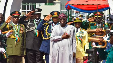 Photo of GOV. SANWO-OLU LAYS WREATH AT 2020 ARMED FORCES REMEMBRANCE DAY CELEBRATION IN LAGOS, ON WEDNESDAY, JANUARY 15, 2020