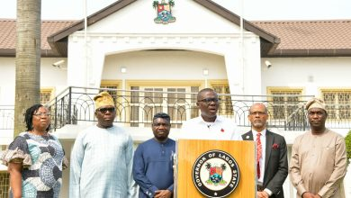Photo of GOV. SANWO-OLU BRIEFS THE MEDIA ON CORONAVIRUS PANDEMIC AT LAGOS HOUSE, MARINA, ON FRIDAY, MARCH 20, 2020